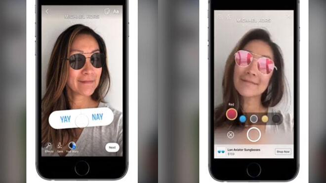 Facebook ya tiene publicidad con realidad aumentada
