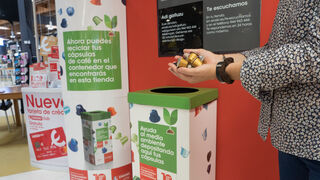 Eroski instala puntos de recogida de cápsulas de café