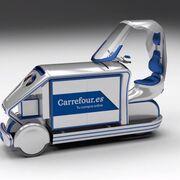 La moto-furgoneta que probará en breve Carrefour España