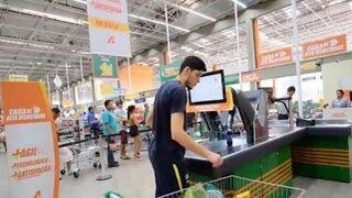 La caja de alta velocidad que prueba Carrefour en Brasil