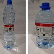Eroski retira botellas de agua contaminada con químicos