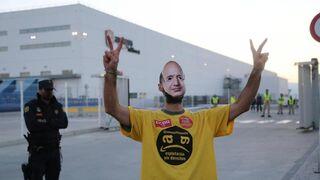 Amazon niega el seguimiento de la huelga en Madrid