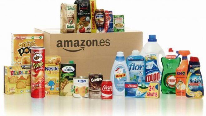 Amazon, cada vez más gigante en la venta de alimentos