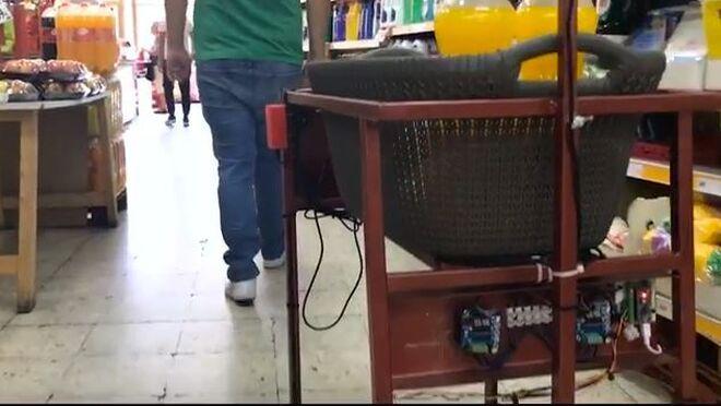 Un carrito de supermercado inteligente... ¡Y es español!