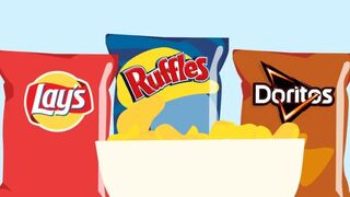 Así eran antes tus Doritos, tus Lay's y tu Pepsi; así son ahora