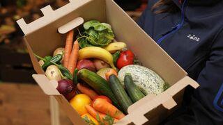 Caja de frutas 'feas' comercializada por Lidl en Reino Unido