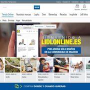 Lidl prueba en España la venta online de sus marcas de bazar