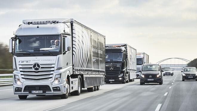 Los transportistas piden que sea el distribuidor quien se encargue de la descarga de mercancías