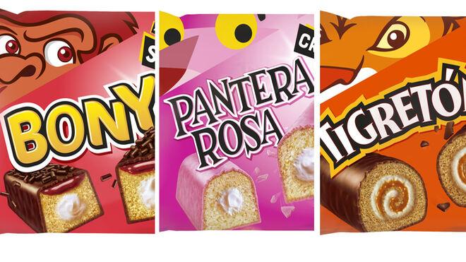Pantera Rosa, Tigretón, Bony: a por los jóvenes… y nostálgicos