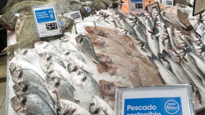Eroski supera el millón de kilos de pescado sostenible
