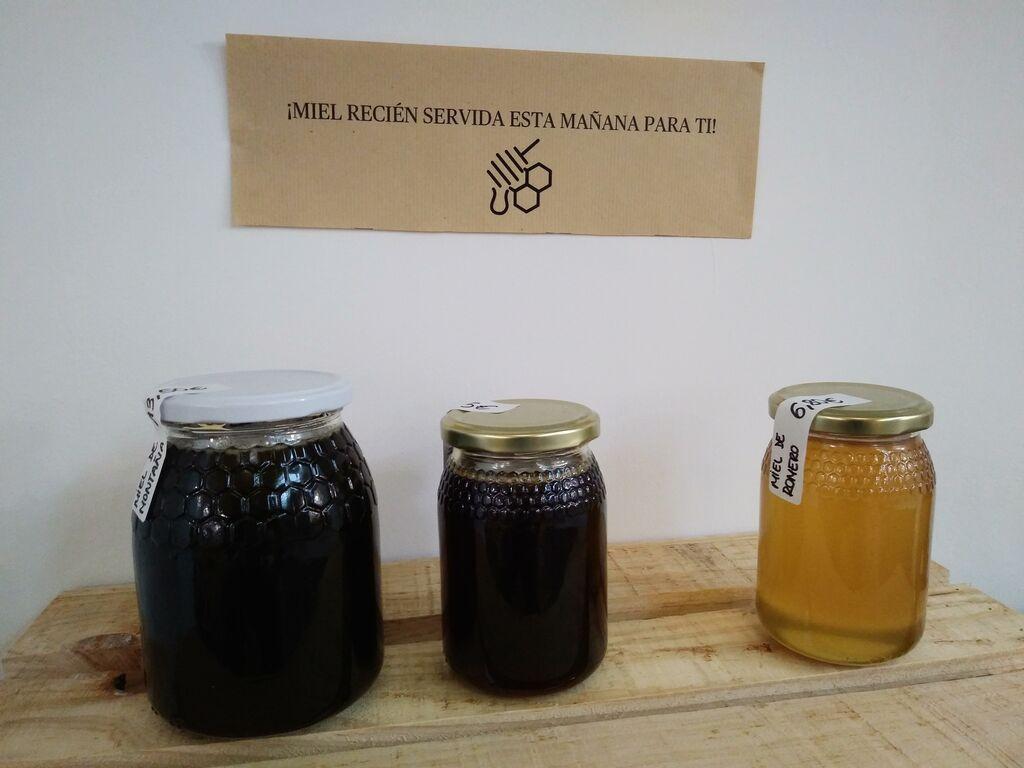 La miel de Unpacked, recién preparada