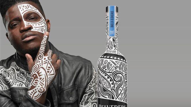 Nueva botella solidaria de Belvedere contra el sida