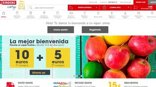 El supermercado online de Eroski, de nuevo el mejor