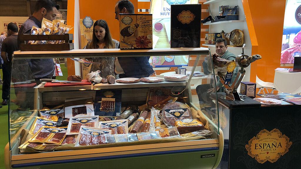 Embutidos y Jamones España e Hijos estuvoe presente en Meat Attraction 2018.