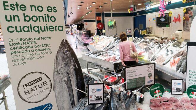 Eroski hace balance de sus compras de bonito sostenible
