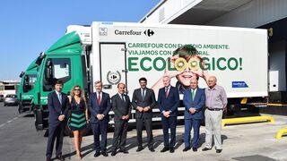 Carrefour estrena su nuevo hub logístico de Alicante