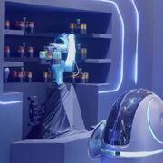Los camareros-robots que se ha inventado Alibaba