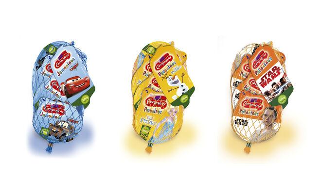 Campofrío relanza sus snacks cocidos y estrena Polloninos
