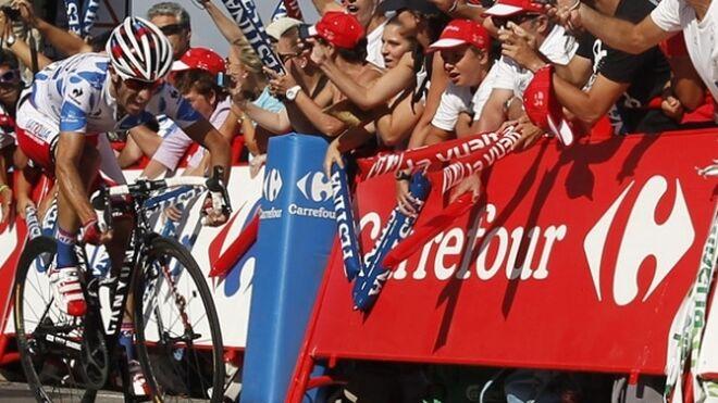 Carrefour busca mantener su patrocinio en La Vuelta