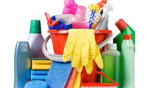 Productos químicos para la limpieza del hogar