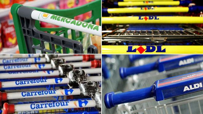Mercadona, Carrefour, Lidl, Aldi: las preferidas por los shoppers