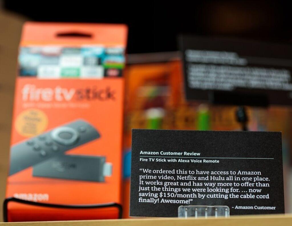 Los productos vienen acompañados con valoraciones de los clientes hechas en la web