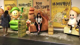 Así es una supertienda de snacks y bebidas en Corea