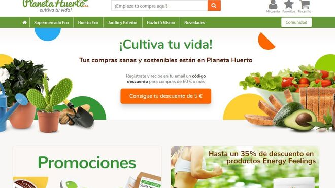 Carrefour crece en Bio: compra la tienda online Planeta Huerto