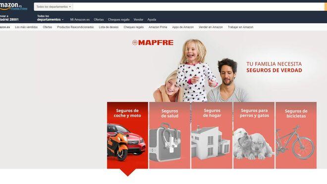 Amazon entra en el mundo de los seguros con Mapfre