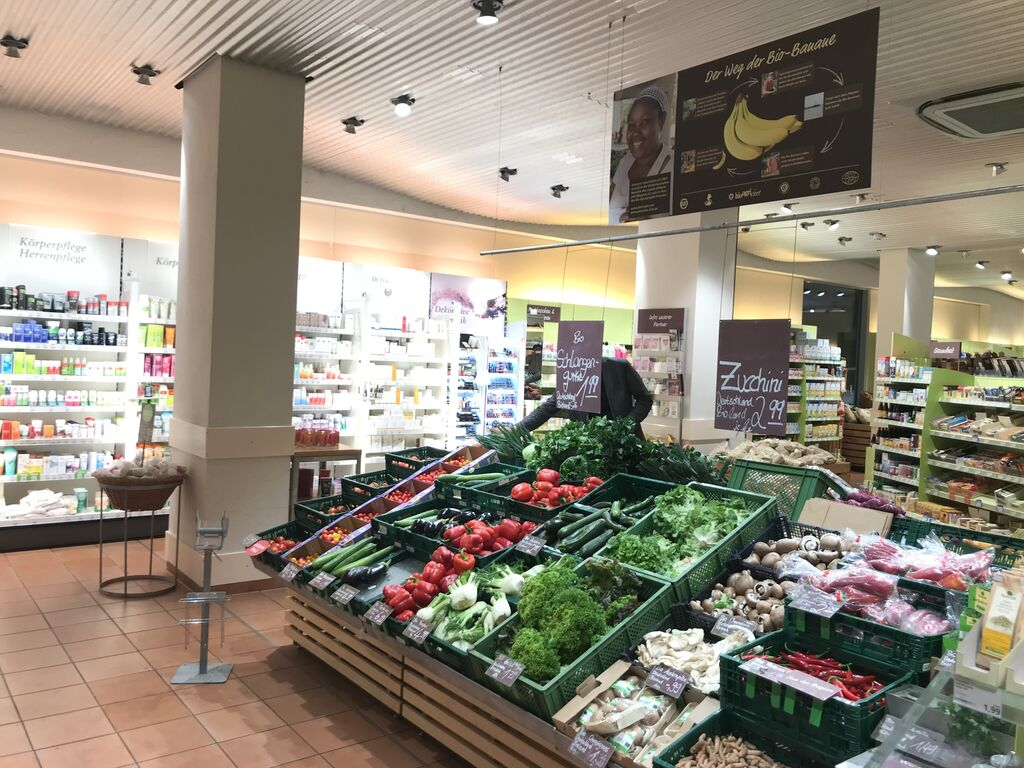 Alnatura cuenta con más de 100 supermercados ecológicos en Alemania.