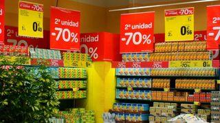 Promociones en un supermercado