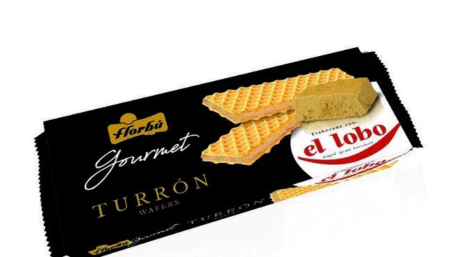 Turrón El Lobo: ahora también en galletas de barquillo
