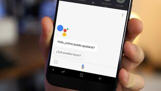 Asistente de Google en un smartphone