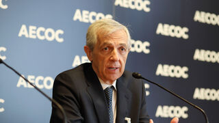 Javier Campo, presidente de Aecoc