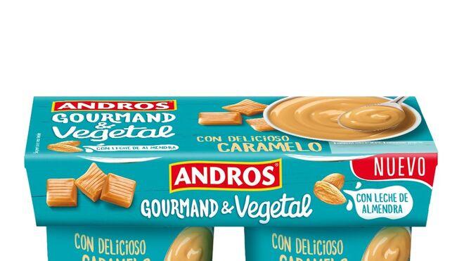 Andros lanza su nueva gama de postres Gourmand & Vegetal