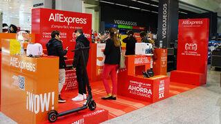 AliExpress se hace hueco en El Corte Inglés con una tienda efímera