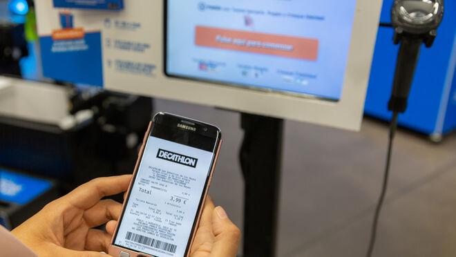 Decathlon implanta el ticket digital en todas sus tiendas