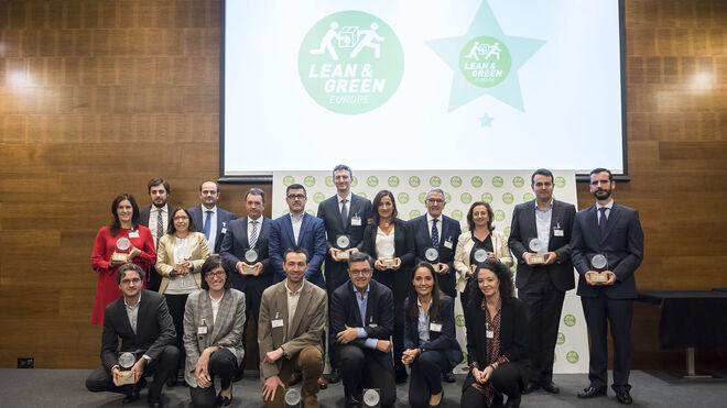 Alfil Logistics, Chep, DHL Supply Chain, Lidl, Nestlé y Unilever reciben la estrella Lean&Green