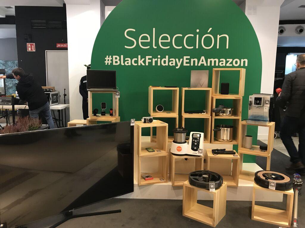 Así es la nueva Amazon pop up store de Madrid