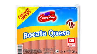 Campofrío amplía su gama de salchichas con las nuevas Bocata Queso
