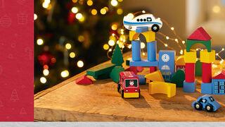 Lidl vuelve a vender sus juguetes de madera por Navidad