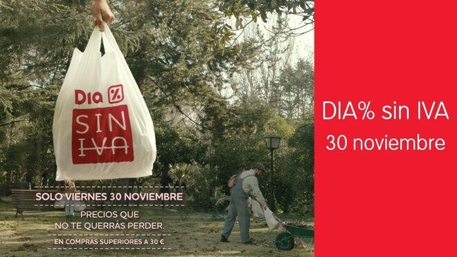 Dia España lanza su día sin IVA el 30 de noviembre