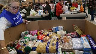Los súper se vuelcan en la Gran Recogida de Alimentos