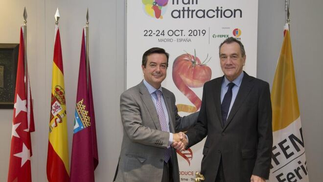 Fruit Attraction: Fepex e Ifema renuevan su acuerdo
