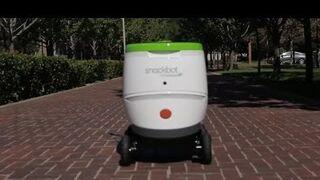 PepsiCo y sus robots repartidores de snacks