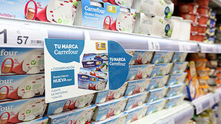 Carrefour usa la Inteligencia Artificial para mantener llenos sus lineales
