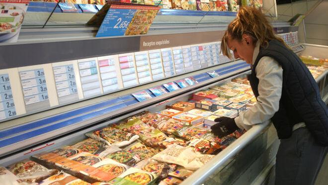 Los españoles gastamos 155 euros al año en congelados
