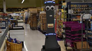 Marty, el robot que ayuda con el mantenimiento del súper