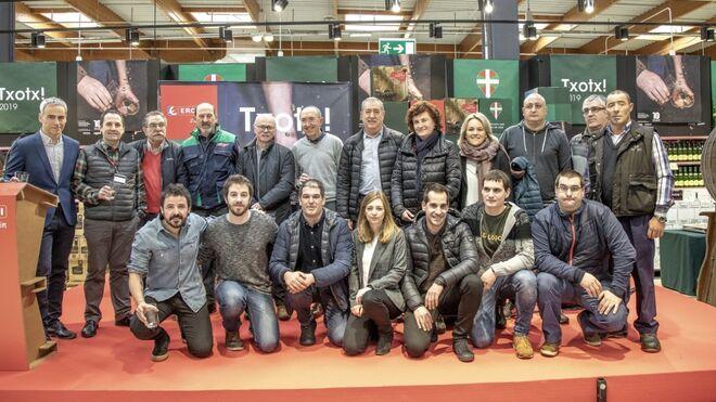 Eroski duplica las ventas de sidra Euskal Sagardoa