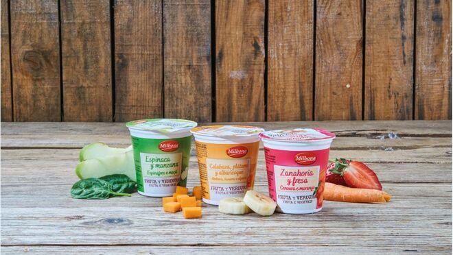 Lidl se sube al tren 'veggie' con sus yogures de verdura